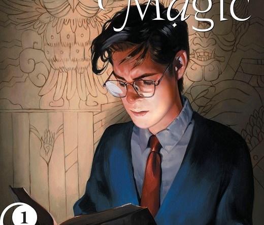Books of Magic #1 cover by Kai Carpenter