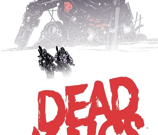 Dead Kings #1 cover by Matthew Dow Smith