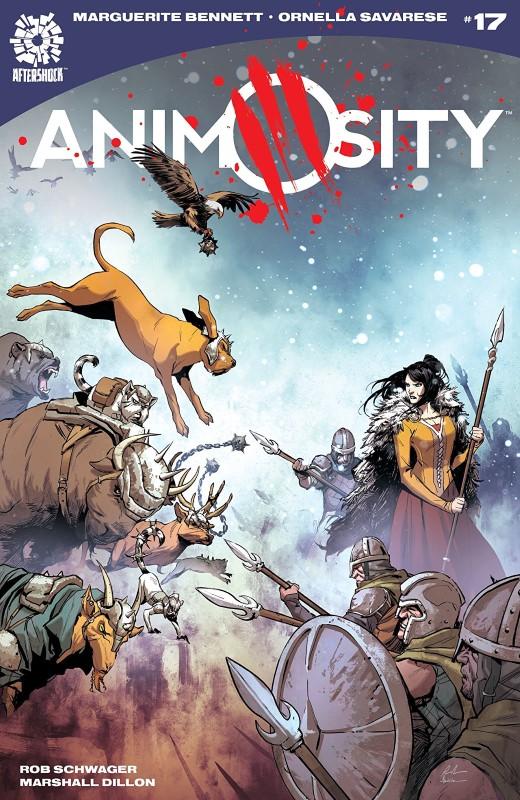 Animosity #17 cover by Rafael de Latorre and Marcelo Maiolo