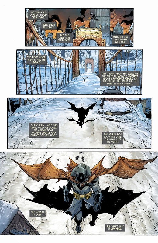 DC's Nuclear Winter Special #1 art by Giuseppe Camuncoli, Cam Smith, Romulo Fajardo Jr., and letterer Clayton Cowles