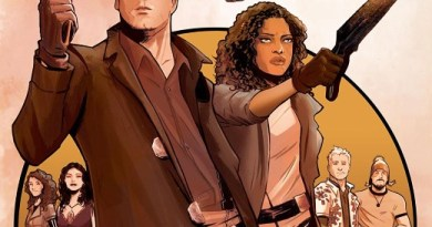 Firefly #1 cover by Lee Garbett