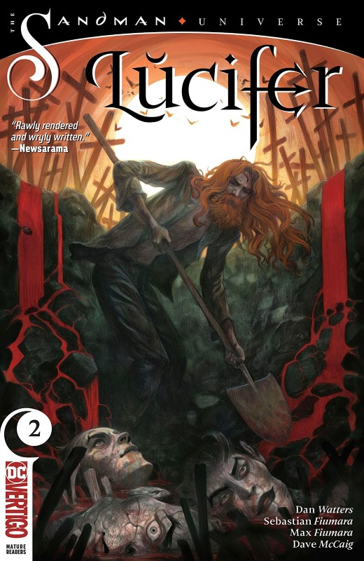 Lucifer #2 cover by Tiffany Turrill
