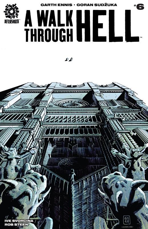 A Walk Through Hell #6 cover by Goran Sudzuka and Ive Svorcina