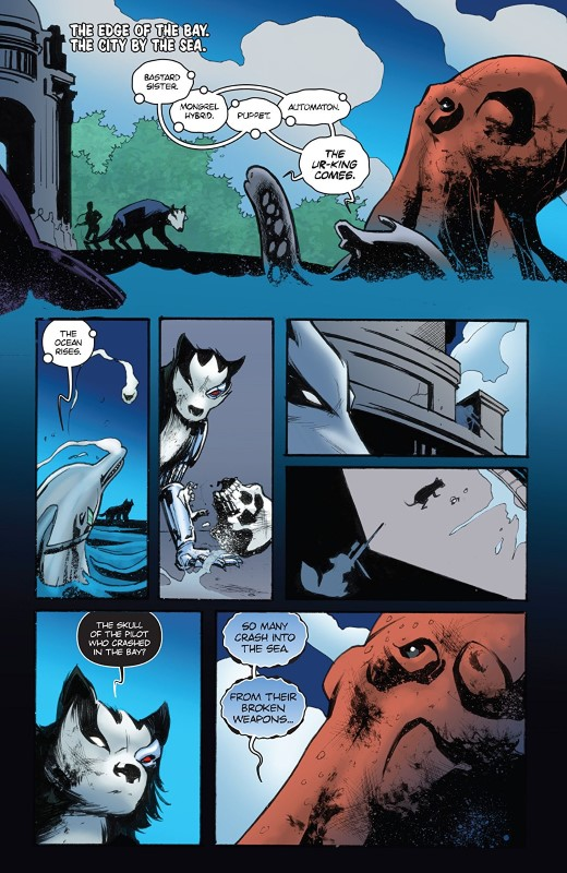Animosity Evolution #9 art by Eric Gapstur, Rob Schwager, and letterer Marshall Dillon