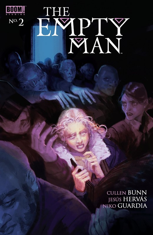 The Empty Man #2 cover by Vanesa R. Del Rey