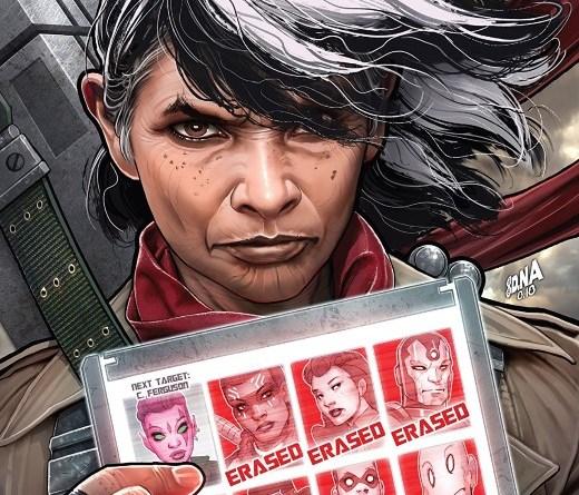 Exiles #11 cover by David Nakayama