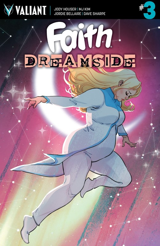 Faith: Dreamside #3 cover by Marguerite Sauvage