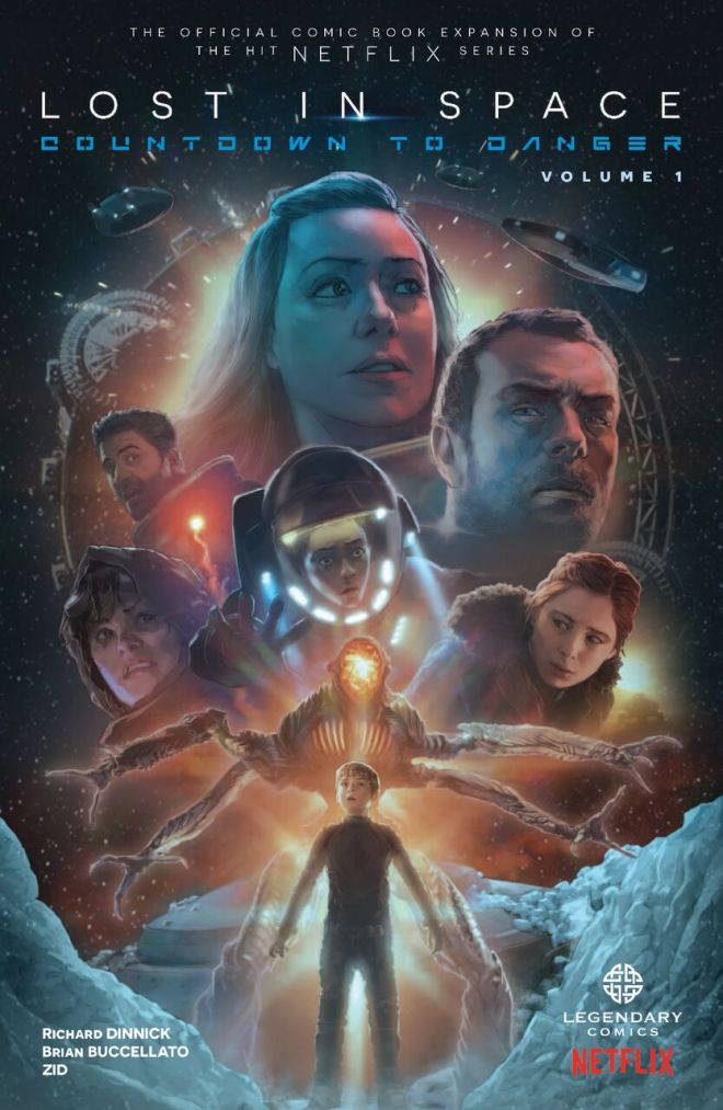 New Graphic Novels Fill 'Lost In Space' Void While Waiting