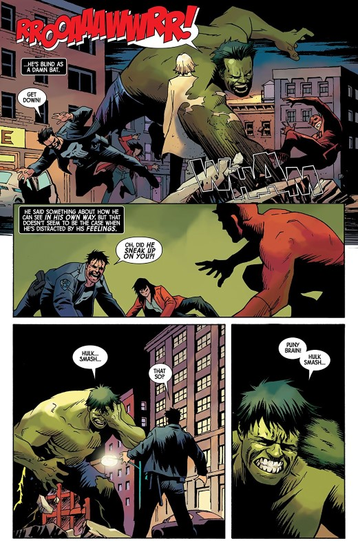 Marvel Knights 20th #3 art by Damian Couceiro, Matt Milla, and letterer VC's Cory Petit