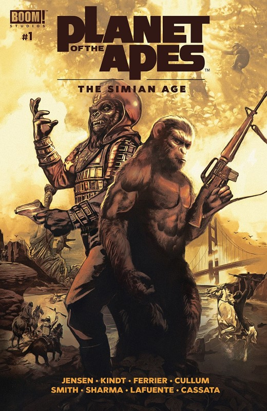 Planet of the Apes: The Simian Age #1 cover by Fay Dalton and John Keaveney