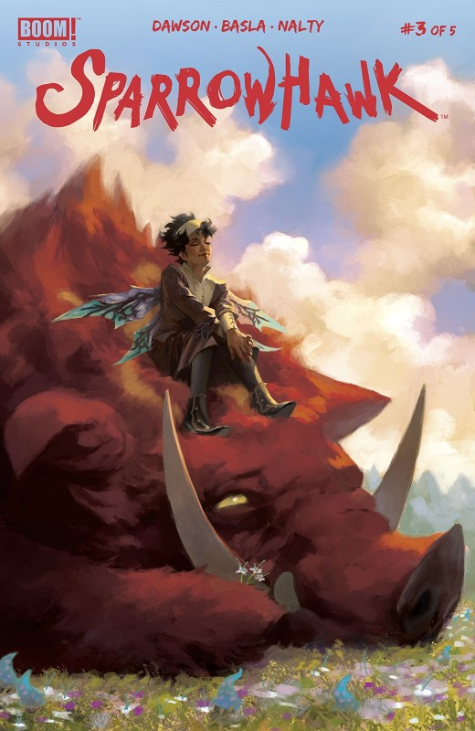 Sparrowhawk #3 cover by Miguel Mercado