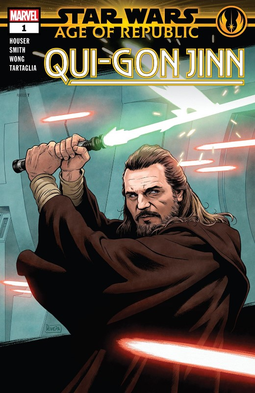 Star Wars Age of Republic: Qui-Gon Jinn #1 cover by Paolo Rivera