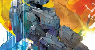 Halo: Lone Wolf #1 cover by Christian Ward