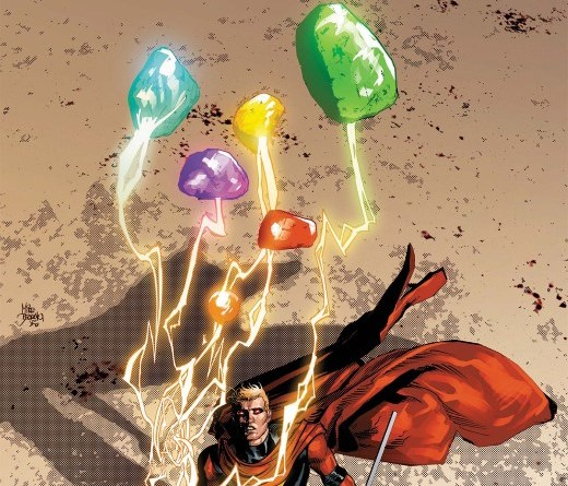 Infinity Wars: Infinity #1 cover by Mike Deodato Jr. and Rain Beredo