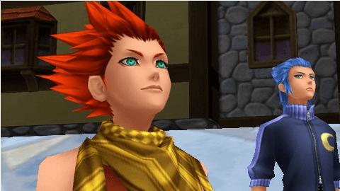 Isa and Lea in Kingdom Hearts Birth by Sleep
