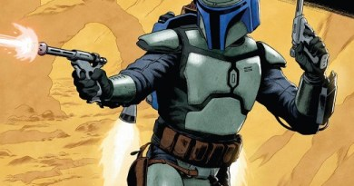 Star Wars Age of Republic: Jango Fett #1 cover by Paolo Rivera