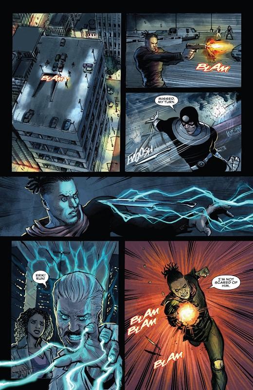 Killmonger #3 art by Juan Ferreyra, Eduardo Ferreyra, and letterer VC's Joe Sabino