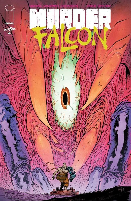 Murder Falcon #4 cover by Daniel Warren Johnson