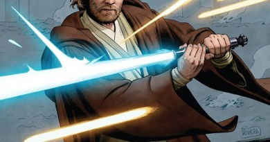 Star Wars Age of Republic: Obi-Wan Kenobi #1 cover by Paolo Rivera