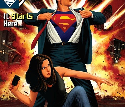 Action Comics #1007 cover by Steve Epting