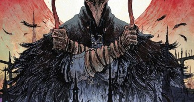 Bloodborne #9 cover by Jeff Stokely