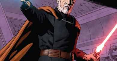 Star Wars Age of Republic: Count Dooku #1 cover by Paolo Rivera