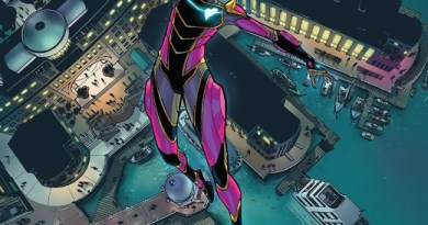 Ironheart #3 cover by Amy Reeder