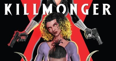 Killmonger #4 cover by Juan Ferreyra