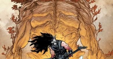 Murder Falcon #5 cover by Daniel Warren Johnson