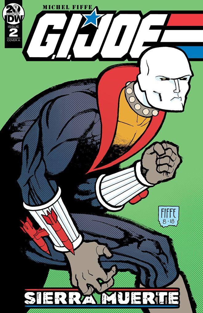 Destro gets threatening on the cover of GI Joe SIerra Muerte
