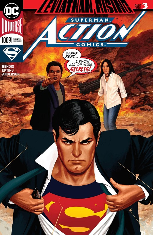 Action Comics #1009 cover by Steve Epting
