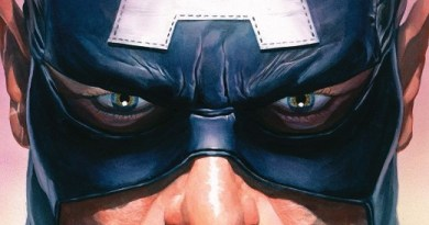 Captain America #8 cover by Alex Ross