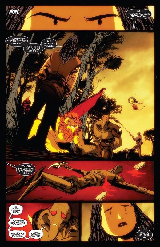 Dark Ark #15 art by Juan Doe and letterer Dave Sharpe