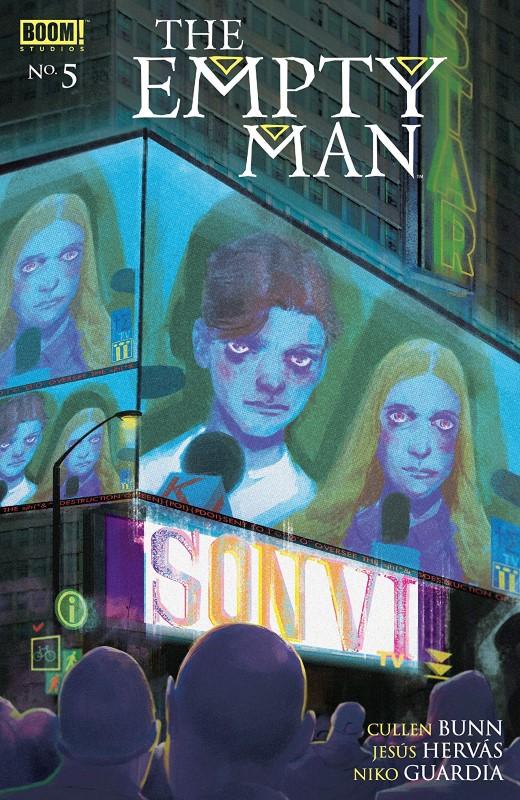 The Empty Man #5 cover by Vanesa R. Del Rey