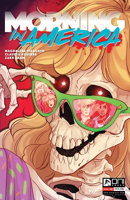 Morning in America #1 cover by Claudia Aguirre