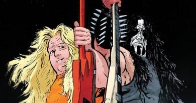Murder Falcon #6 cover by Daniel Warren Johnson