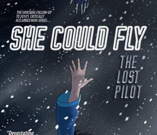 She Could Fly: The Lost Pilot #1 cover by Martin Morazzo