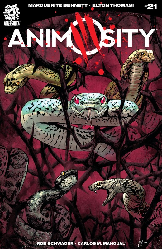 Animosity #21 cover by Roberto de Latorre and Marcelo Maiolo