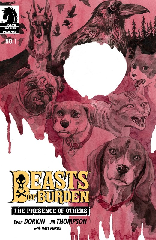 Beasts of Burden: The Presence of Others #1 cover by Jill Thompson