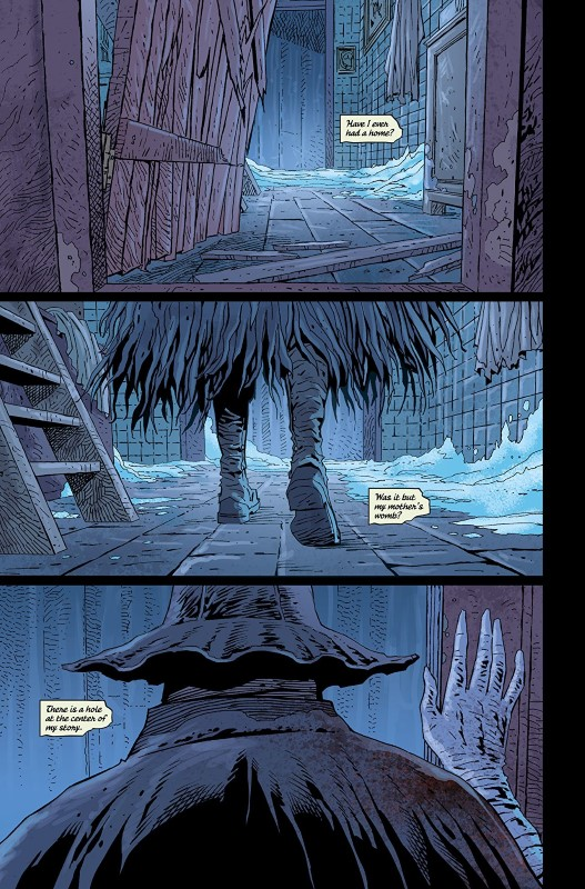 Bloodborne #12 art by Piotr Kowalski, Brad Simpson, and letterer Aditya Bidikar