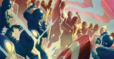 Captain America #10 cover by Alex Ross