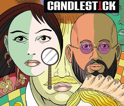 Clue: Candlestick #1 cover by Dash Shaw