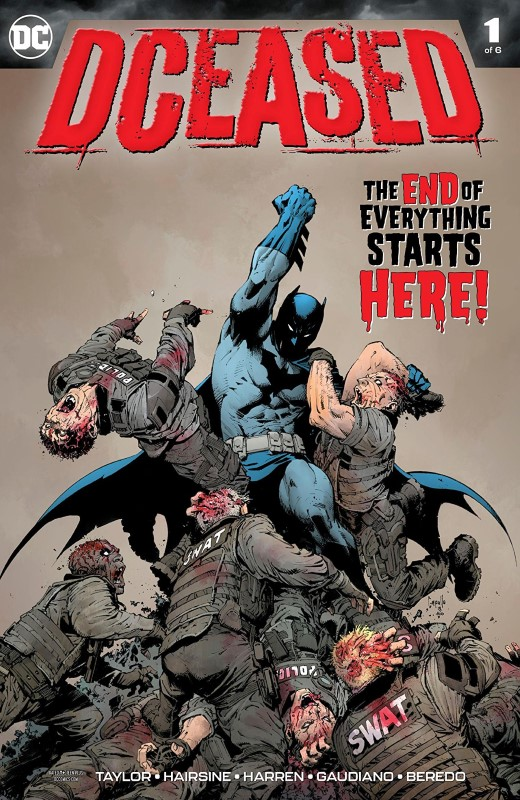 DCeased #1 cover by Greg Capullo and FCO Plascencia