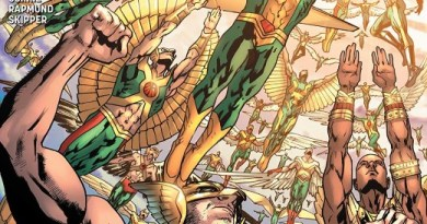 Hawkman #12 cover by Bryan Hitch and Alex Sinclair