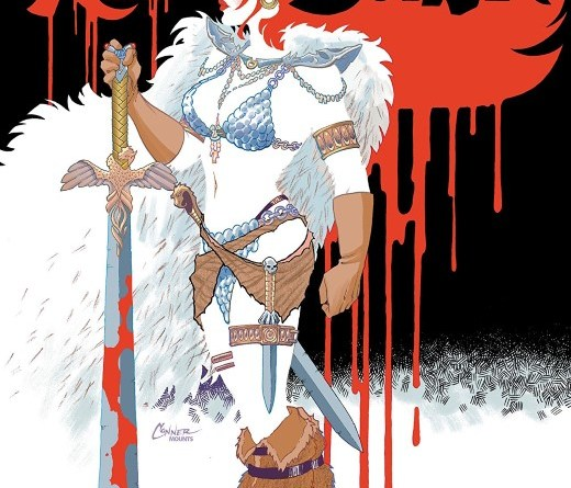 Red Sonja #4 cover by Amanda Conner and Paul Mounts