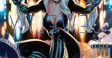 Black Cat #1 cover by J. Scott Campbell and Sabine Rich
