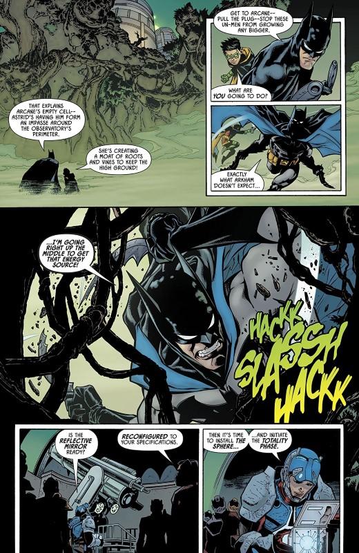 Detective Comics #1005 art by Brad Walker, Andrew Hennessy, Nathan Fairbairn, and letterer Rob Leigh
