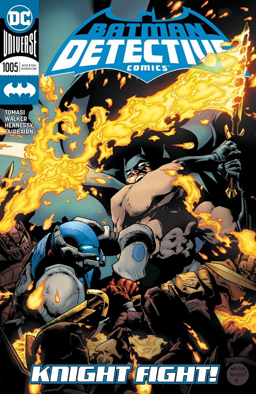 Detective Comics #1005 cover by Brad Walker and Nathan Fairbairn