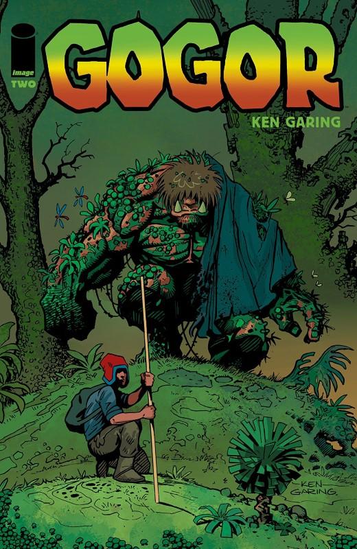 Gogor #2 cover by Ken Garing