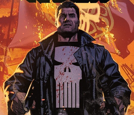 The Punisher #12 cover by Greg Smallwood